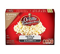 Orville Redenbachers Kettle Corn - 3-3.28 Oz