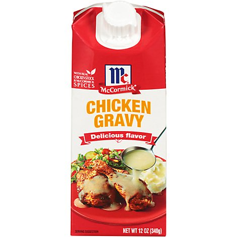 McCormick Simply Better Chicken Gravy - 12 Oz
