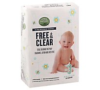 Open Nature Free & Clear Diapers Ultra Absorbent Size 3 - 34 Count