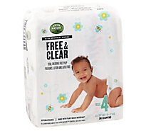 Open Nature Free & Clear Diapers Ultra Absorbent Size 4 - 30 Count