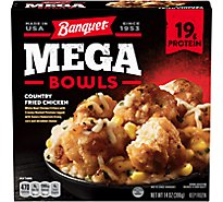 Banquet Mega Bowl Country Fried Chicken - 14 Oz