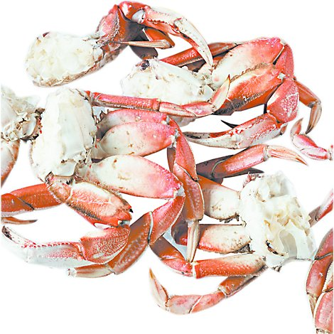 Seafood Counter Crab Dungeness Sections Frozen Service Case - 1.50 LB