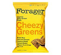 Forager Project Organic Chips Leafy Green Cheezy Greens - 5 Oz