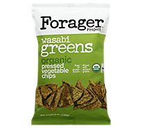 Forager Vegetable Chips Wasabi Greens - 5 Oz