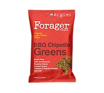 Forager Vegetable Chips Chipotle Bbq Greens - 5 Oz