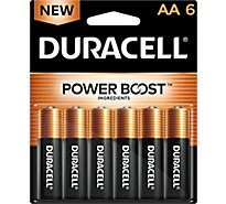 Duracell Coppertop Battery AA - 6 Count