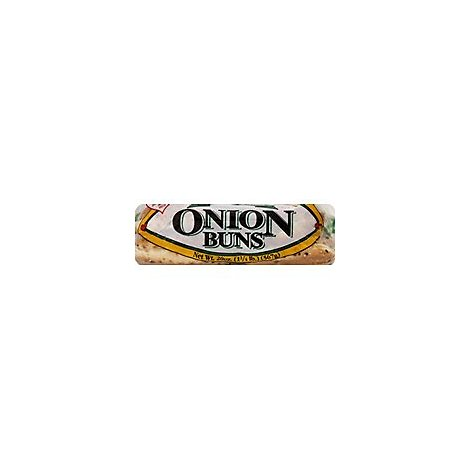 Loves Gourmet Onion Hamburger Buns 8s - 20 Oz