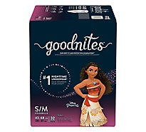 GoodNites Bedtime Pants Youth For Girls Small/Medium - 32 Count