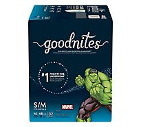GoodNites Underwear Nighttime Youth For Boys Small/Medium - 32 Count