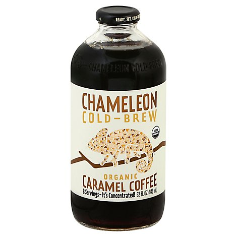 Chameleon Organic Coffee Cold Brew Caramel - 32 Oz