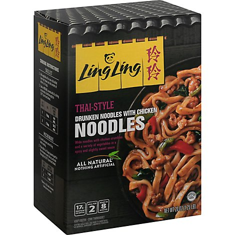 Ling Ling Drunken Chicken Noodles - 20 Oz