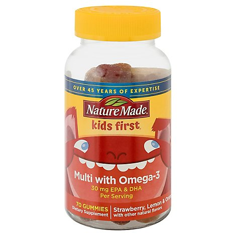 Nature Made Kids Multi W Omega - 70 Count