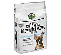 Open Nature Dog Food Puppy Chicken & Brown Rice Recipe Bag - 6 Lb