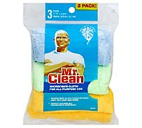 Mr. Clean Cloth Microfiber - 3 Count