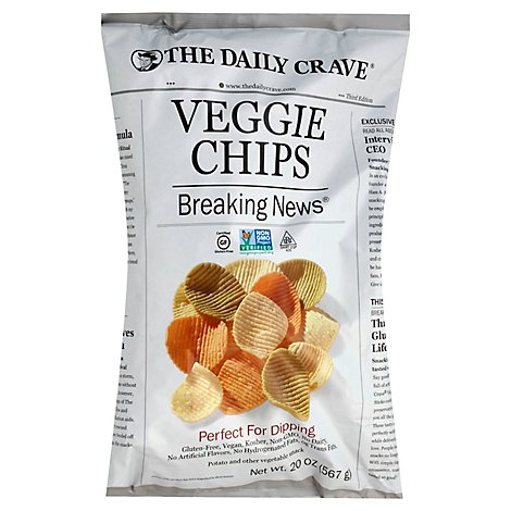 The Daily Crave Veggie Chips Bag - 20 Oz