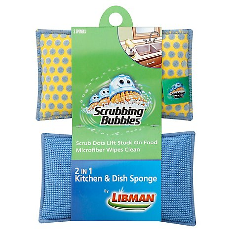 Libman Sc Johnson Dish Spng - 2 Count