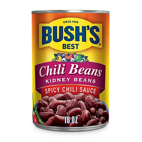 BUSHS BEST Beans Chili Kidney Spicy Chili Sauce - 16 Oz