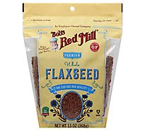 Bobs Red Mill Flaxseed Whole Premium Gluten Free - 13 Oz