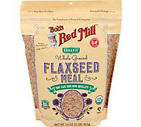 Bobs Red Flaxseed Meal Org - 16 Oz