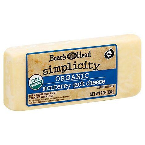 Boars Head Simplicity Pre-Cut Monterey Jack - 7 Oz