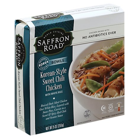 Saffron R Bowl Chkn Korean Swt Chil - 9 Oz