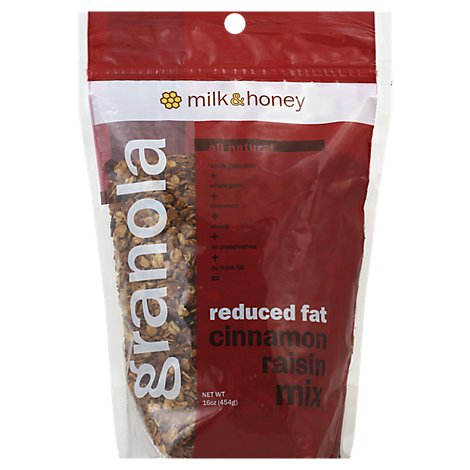 Milk & Honey Milk & Honey Granola Cnnmn Rsn Mix Rf 16.000 Oz - 16 Oz