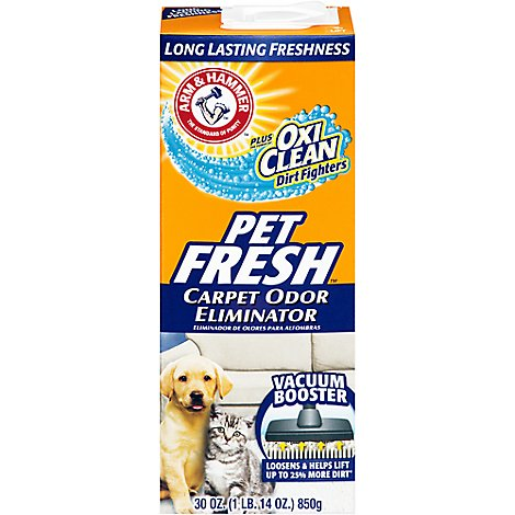 A&H Crpt Odr Elim Pet Fresh - 30 Oz