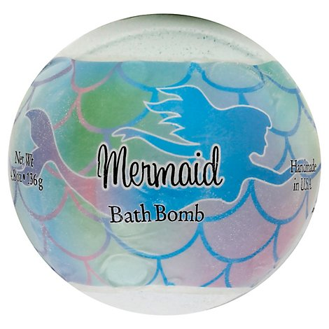 Mermaid Bath Bomb - 4.8 Oz