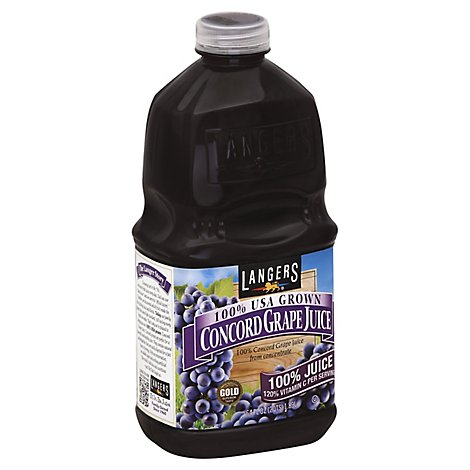 Langers Juice Concord Grape - 64 Fl. Oz.