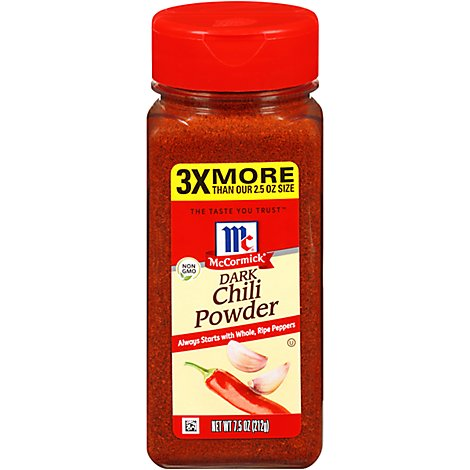 McCormick Seasoning Mix Dark Chili Powder - 7.5 Oz