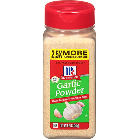 McCormick Garlic Powder - 8.75 Oz