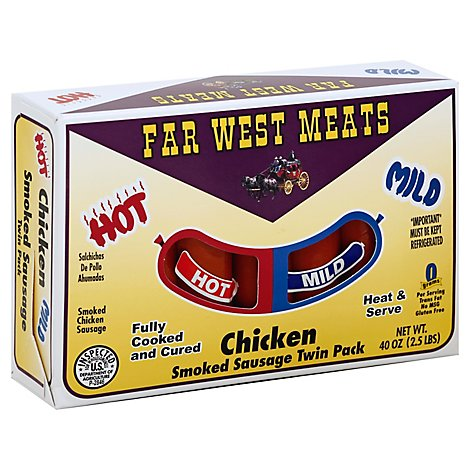 Far West Chicken Links Twin Pack - 2.5 Lb
