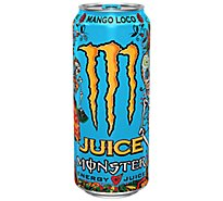 Monster Energy Juice Monster Energy + Juice Drink Mango Loco - 16 Oz