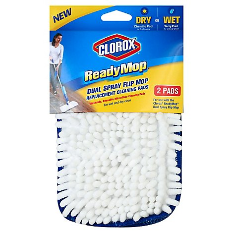 Clorox Rdy Mop Refill Pad - 2 Count