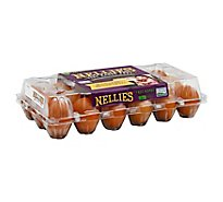Nellies Eggs Free Range Large Brown - 18 Count