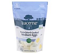 Lucerne Farms Eggs Hard Cooked Peeled Medium 6 Count - 9 Oz