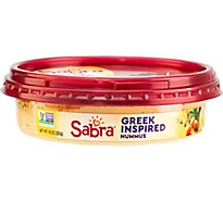 Sabra Hummus Greek Herb Olive Oil - 10 Oz