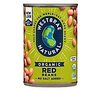 Westbrae Red Beans Organic Ff - 15 Oz