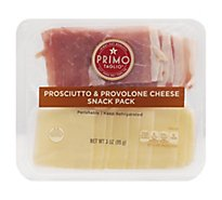 Primo Taglio Snack Pack Prosciutto And Cheese Provolone - 3 Oz