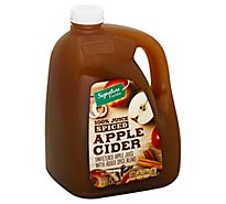 Signature Farms Apple Cider Spiced - 128 Fl. Oz.