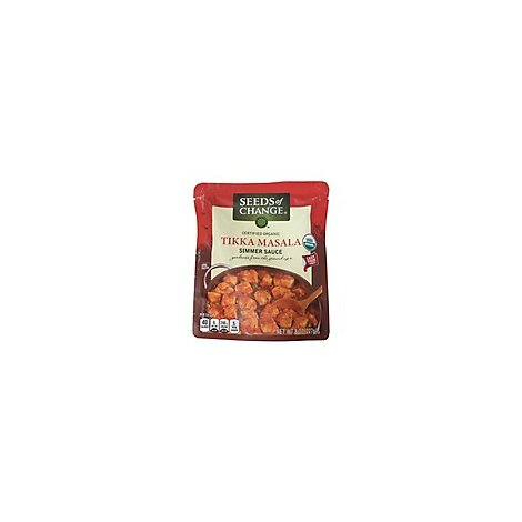 Seeds Of Change Simmer Sauce Tikka Masala Pouch - 8 Oz