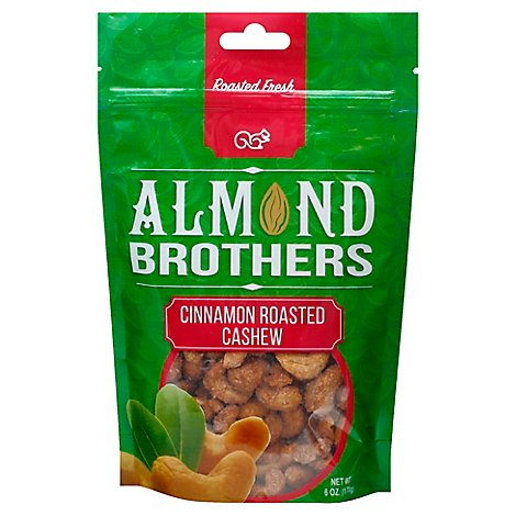 Ab Cinnamon Rstd Cashews - 6 Oz