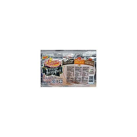 Agristar Sliced Turkey Variety Kosher - 12 Oz