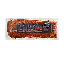 Signature SELECT Pork Spareribs Dry Rub Gluten Free St Louis Style Whiskey Black Pepper - 3.5 Lb