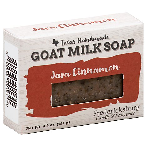 Fcf Bar Soap Goat Milk Java Cinnamon - 4.5 Oz