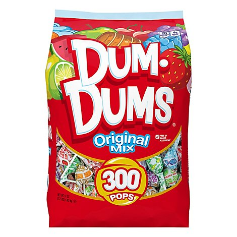 Dum Dums Original Pops - 51 Oz