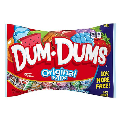 Dum Dums Pops Original - 11.4 Oz