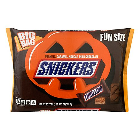 Snickers Candy Bar Fun Size Spooky - 20.77 Oz