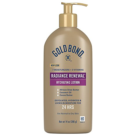 Gold Bond Ult Radiance Renew - 14 Oz