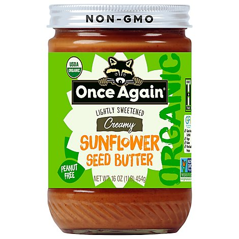 Once Again Organic Sunflower - 16 Oz